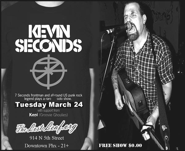 Kevins Seconds - Sacremento