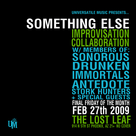 Something Else - Local jazz and hip hop musicians improv collab